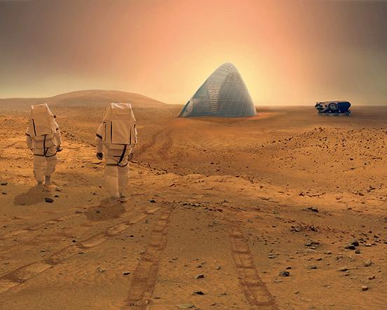 火星基地1
